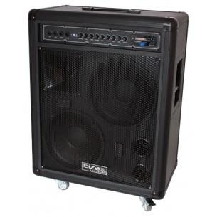 port210vhf sonorisation portable 2 x 10 25cm 500w. Black Bedroom Furniture Sets. Home Design Ideas