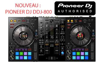 Nouveau pioneer DDJ-800 chez sonopro-discount lorient et vannes